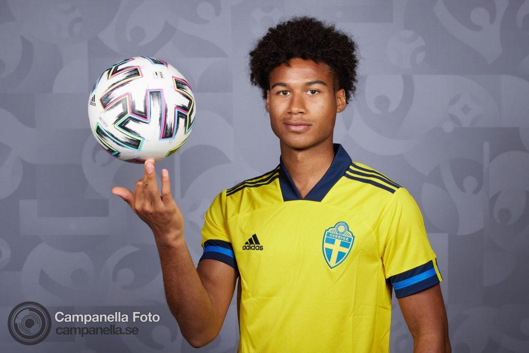 Sweden Official UEFA Euro 2020 Portraits - Michael Campanella Photography